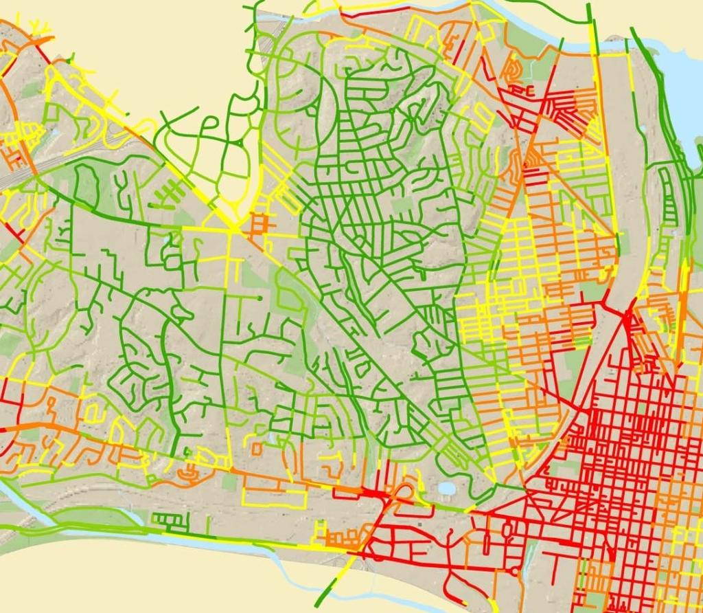 PHASING PLAN: ISSUES TO CONSIDER Bicycle travel demand Route connectivity and