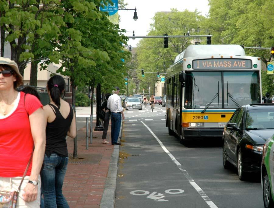 WHY PLANNING FOR BICYCLING IS IMPORTANT Bicycle improvements often benefit other modes Bike lanes increase motorist comfort Bike lanes