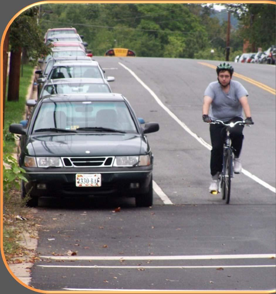 CHOOSING BIKEWAY TYPE 2012 GUIDE Detailed guidance on facility selection.