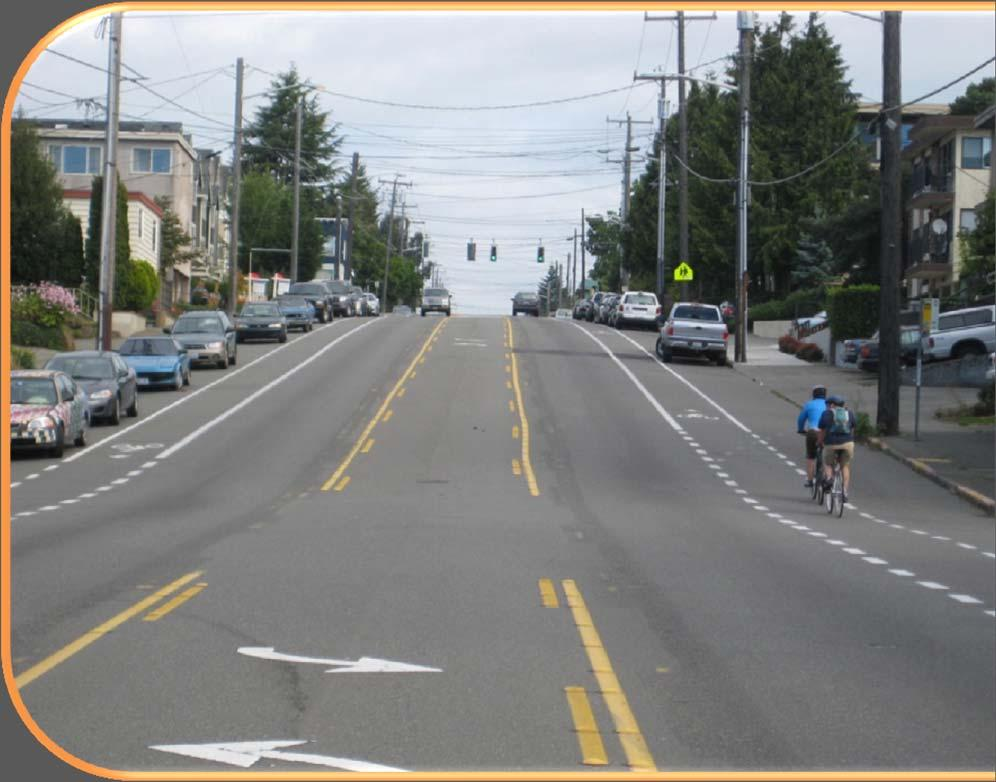 LANE DIETS AND ROAD DIETS Permission to narrow lane widths to create bike