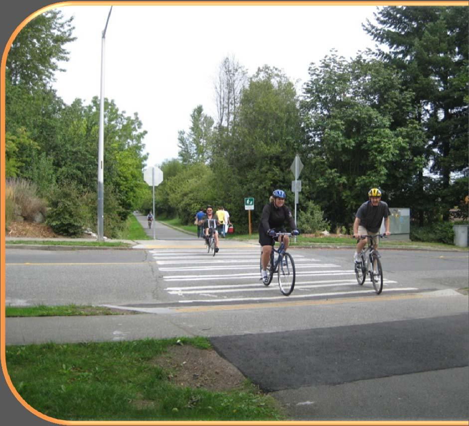 SHARED USE PATHS New guidance intersections, crossings and side paths Bollards