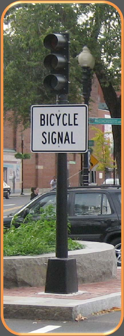 SIGNALS Should accommodate bicyclists New guidance on minimum green, extension time when