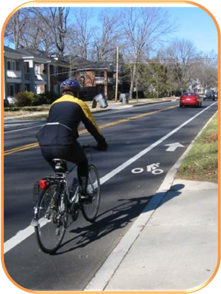 CHAPTER 2 BICYCLE PLANNING Bicyclists need accommodation on ALL roadways Prioritize most important improvements Explains: The