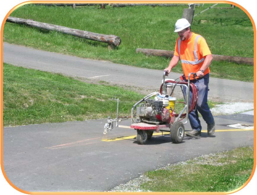 CHAPTER 7 MAINTENANCE AND OPERATIONS Sweeping Surface repairs Pavement overlays Vegetation Loop detectors Signs, stripes and legends