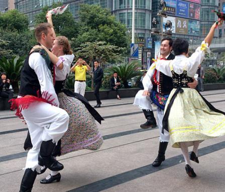 INVITATION TO THE INTERNATIONAL FOLK FITNESS DANCE CONFERENCE IN SHANGHAI, CHINA, 13 19 OCTOBER 2016 DEAR DANCE GROUPS, Do you want to present your unique
