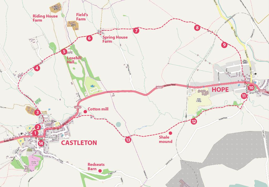 CASTLETON and HOPE Medieval Historical Landscape a self-guided trail Explore Castleton and Hope s medieval and later past with this self-guided trail.