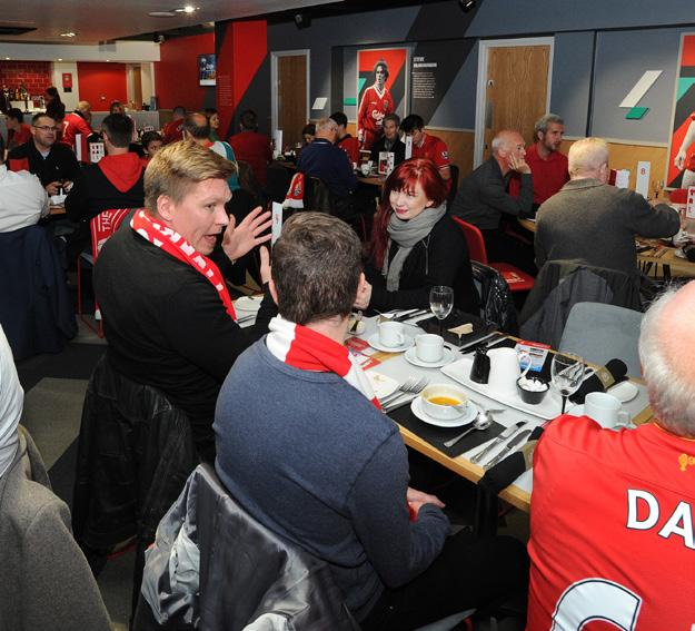 Sevens Lounge Named after the Liverpool FC greats, including Keegan and Dalglish who once sported the famous No 7 shirt, the Sevens Lounge is the perfect place to relax and discuss the game ahead