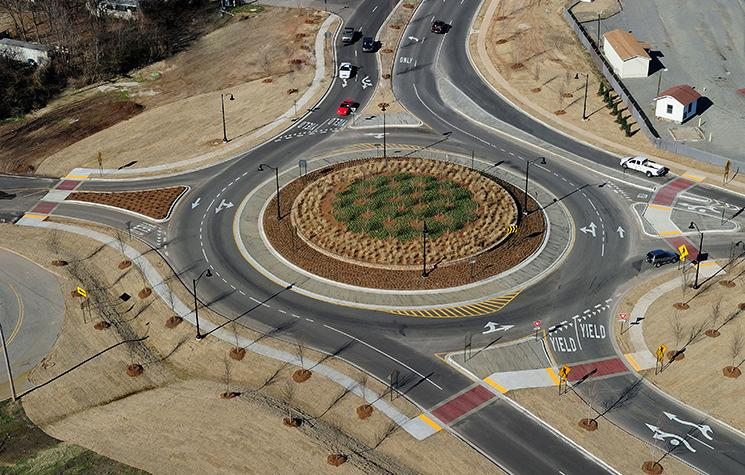 WHERE ARE ROUNDABOUTS APPROPRIATE?