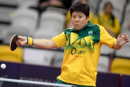 Jian Fang LAY Country Australia Qualification Oceania Cup Champion World Rank 117 Seed 19 Age 44 Style of Play Attack / Right / Penhold Best WC Result Qualification (2015) Achievements 2017 Oceania