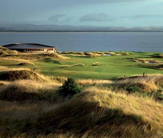 North Sea, The Castle Course combines breathtaking beauty and first class facilities.
