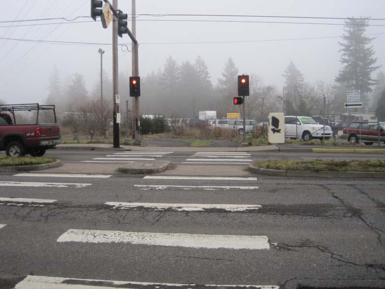 Table 5: Mid-Block Crossing Treatments Mid-Block Crossing Treatments Description: Mid-block crossings can be dangerous to bicyclists because drivers are not typically expecting a crossing at a