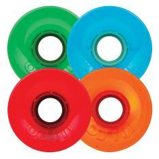 54mm Hot Juice 60mm, 78a Multi (Pictured), Orange, Red, Green or