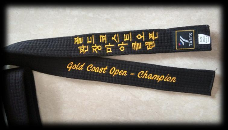 1 st February 2016 To: Instructors, Coaches, Parents and Athletes Dear Taekwondoins We invite you to participate at the 7th MOOTO Gold Coast Open.