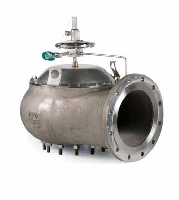 PILOT OPERATED RELIEF VALVES PILOT OPERATED RELIEF VALVES Pressure and/or vacuum relief valves are used on liquid storage tanks and other process vessels or systems to prevent structural damage due