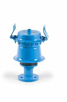 This releases the pressure on the valve actuator allowing the main valve seat pallet to move up thereby venting the tank.