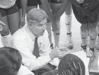HEAD COACH JIM MCLAUGHLIN team and 15 garnered first-team academic allconference accolades with McLaughlin at the helm. In 2000, he coached KSU to a 22-9 record, a program-best No.