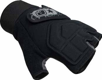 Velcro wrist closure and support 06.