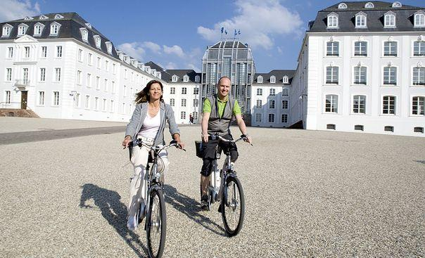 Saar, Moselle and Rhine TOUR DESCRIPTION Saar, Moselle and Rhine Bike trail along Saar and Moselle from Saarbrücken to KoblenzTwo rivers with magnificent bike trails: Enjoy the Saar river with its
