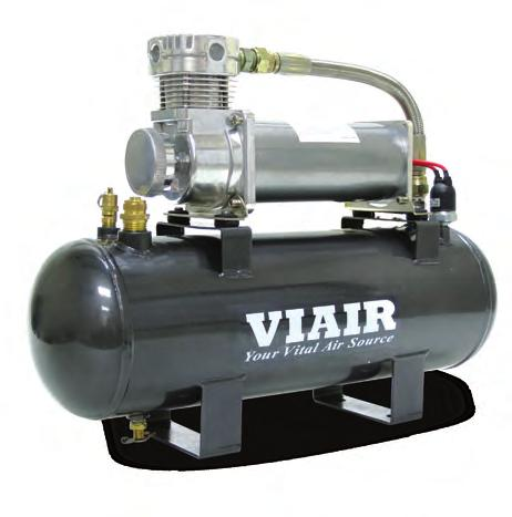 200 PSI HIGH-FLOW AIR SOURCE KIT 50% Duty Compressor on 2.