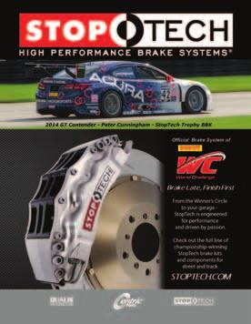 20,000 copies distributed at Pirelli World Challenge races and promotional events.
