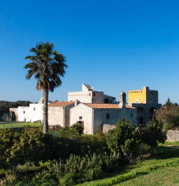 The Masseria offers a large outdoor swimming pool, 10 en-suite bedrooms