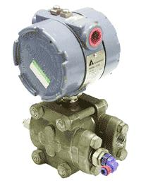 The industrial pressure transmitters used on the control and