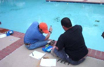 The California Code of Regulations, Title 22, Section 65501, defines the pool operator as: The pool owner, or A person delegated by the pool owner to conduct public pool operation and maintenance.
