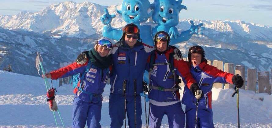 Your instructor will be there every step of the way Local ski school fully qualified instructors with