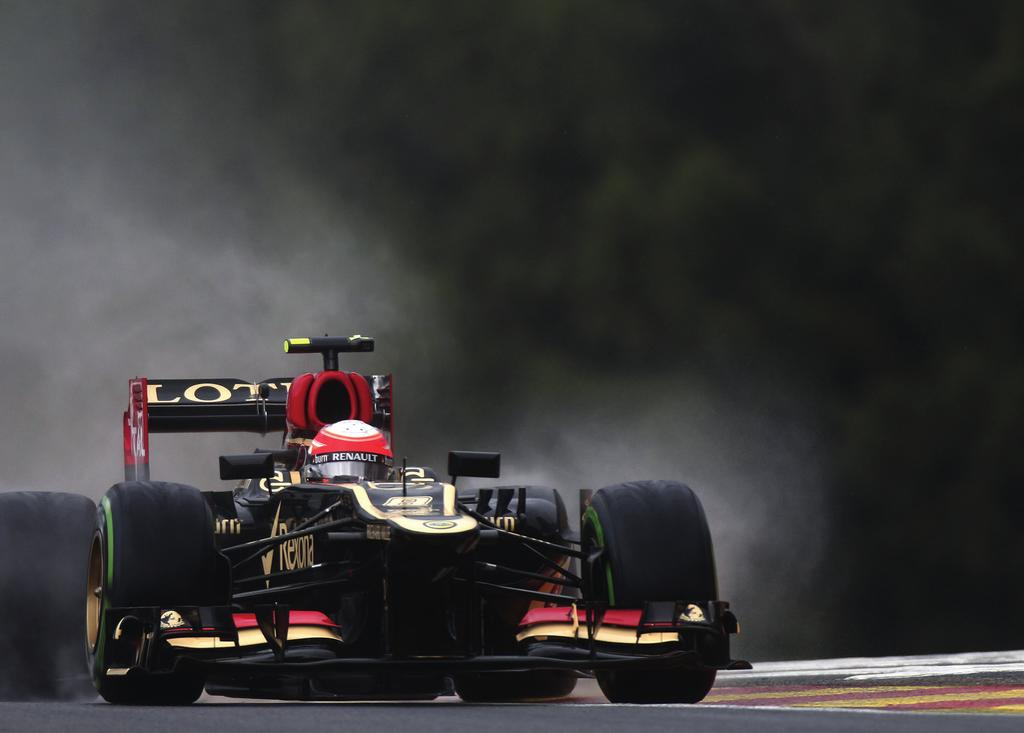 BELGIAN GRAND PRIX REPORT Lotus F1 Team endured a difficult Belgian Grand Prix, with brake failure leading to the retirement of Kimi Räikkönen whilst Romain Grosjean employed a one-stop strategy to