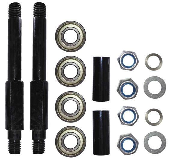 - vanguard the 15mm axle kit.