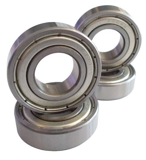 BEARING SETS COLOUR // N/A - 12MM AXLE BEARINGS to be used