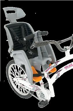 trail-a-bikeaccessories babyseat Get your little ones started on the biking experience early and safely with our baby seat Outfitted with a