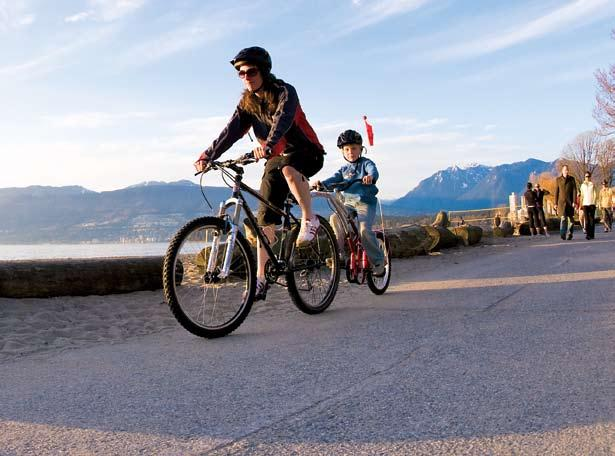 6 six reasons to buy a trail-a-bike for your family Photo: Margus Riga 1 With the available accessories a Trail-A-Bike can last for years, easily accommodating a child from the age of 3 to 8. 2.