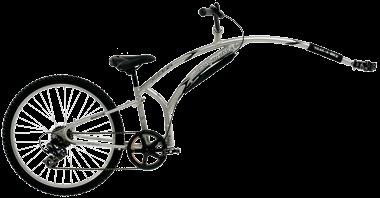 Easy-to-use Shimano 7-speed drivetrain Folding frame for easy storage and transport Larger frame will accommodate older riders Patented design will