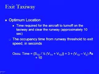 a change from touchdown speed to the exit speed, where the exit speed is lower than the touchdown speed and that is happening after the nose gear has contacted the pavement surface and the brakes