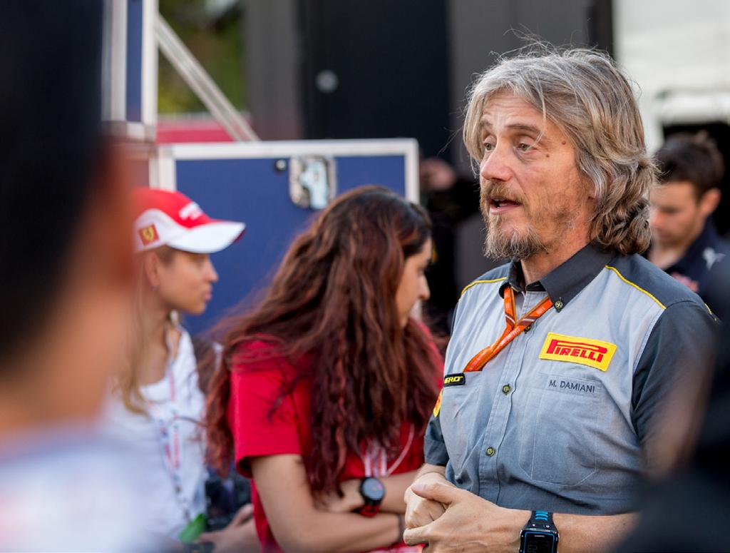 Previously, guests have met drivers, team owners, Formula One CEO Chase Carey and more!