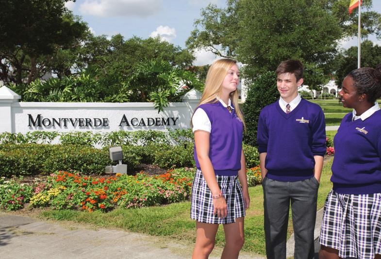 Located just 15 minutes away from GGGA housing, Montverde Academy is a private, K-12