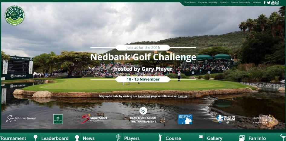 The site provides updated information and detail of the tournament on a daily basis during the four days of live coverage.