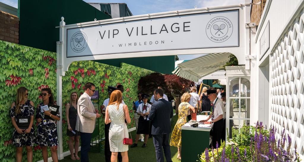 WELCOME Join us in the magnificent surroundings of the All England Lawn Tennis Club,