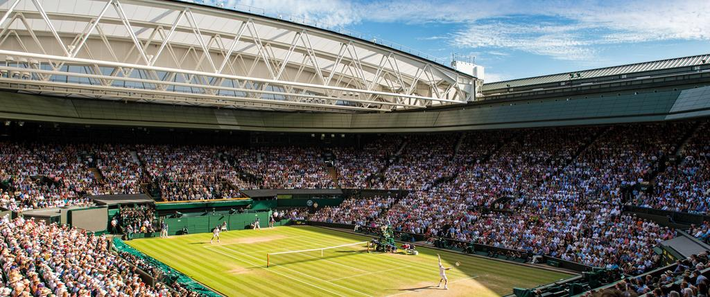 THE WIMBLEDON H O S P I TA L I T Y E X P E R I E N C E It is our great heritage and