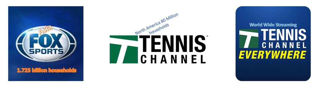 2017 TELEVISION COVERAGE North America - Tennis Channel is an American sports-oriented digital cable and satellite television network that is owned by Sinclair Broadcast Group.