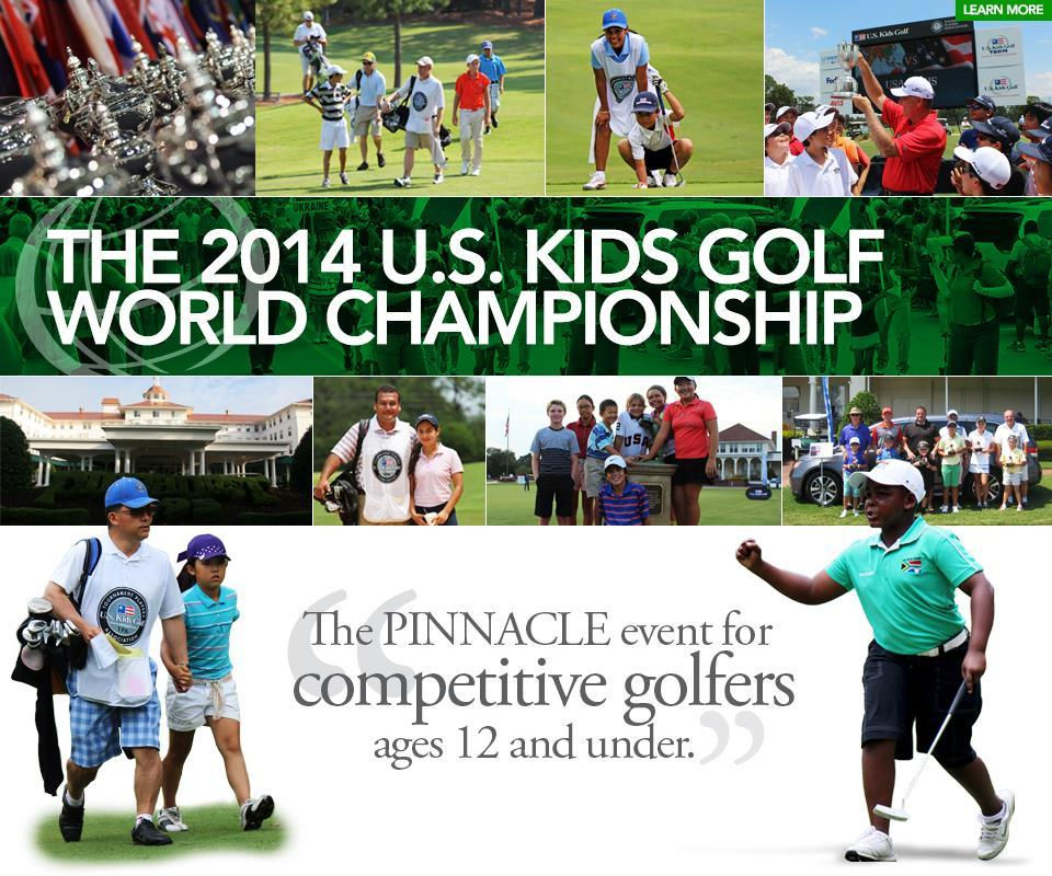 World Championship July 31 to Aug 2, 2014 The U.S. Kids Golf World Championship will once again take place in Pinehurst, N.C. Home to several of the nation's most beautiful courses, the Pinehurst community will be hosting the largest event in junior golf for the seventh consecutive year.