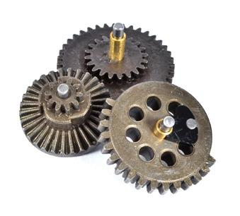 2) Reinforced steel gears guarantee reliability without equal.