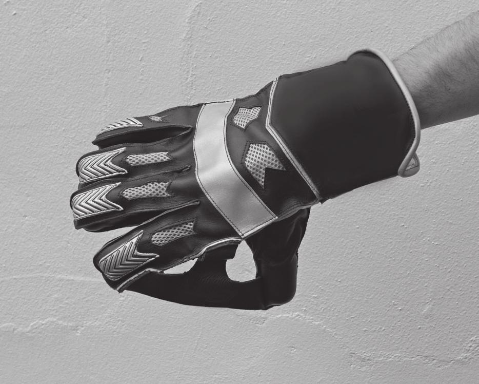 APPENDIX E Wicket-keeping gloves The above images show what is meant by: No webbing between the