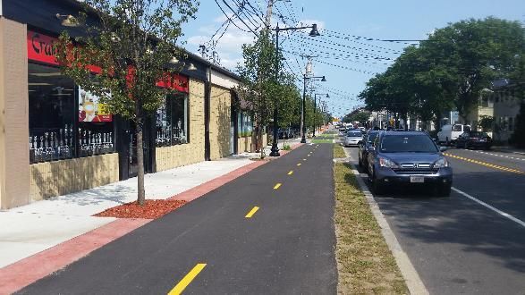 Bike Facilities: Separated Bike Lanes