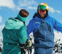 skier or boarder We have an extensive off hill support team to help with bookings and logistics And 99% of our