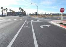 constrained. Turn lanes work best when they do not negatively impact conditions for Major Arterials: Appropriate non-motorized modes. Reduces delay on automobiles and transit.