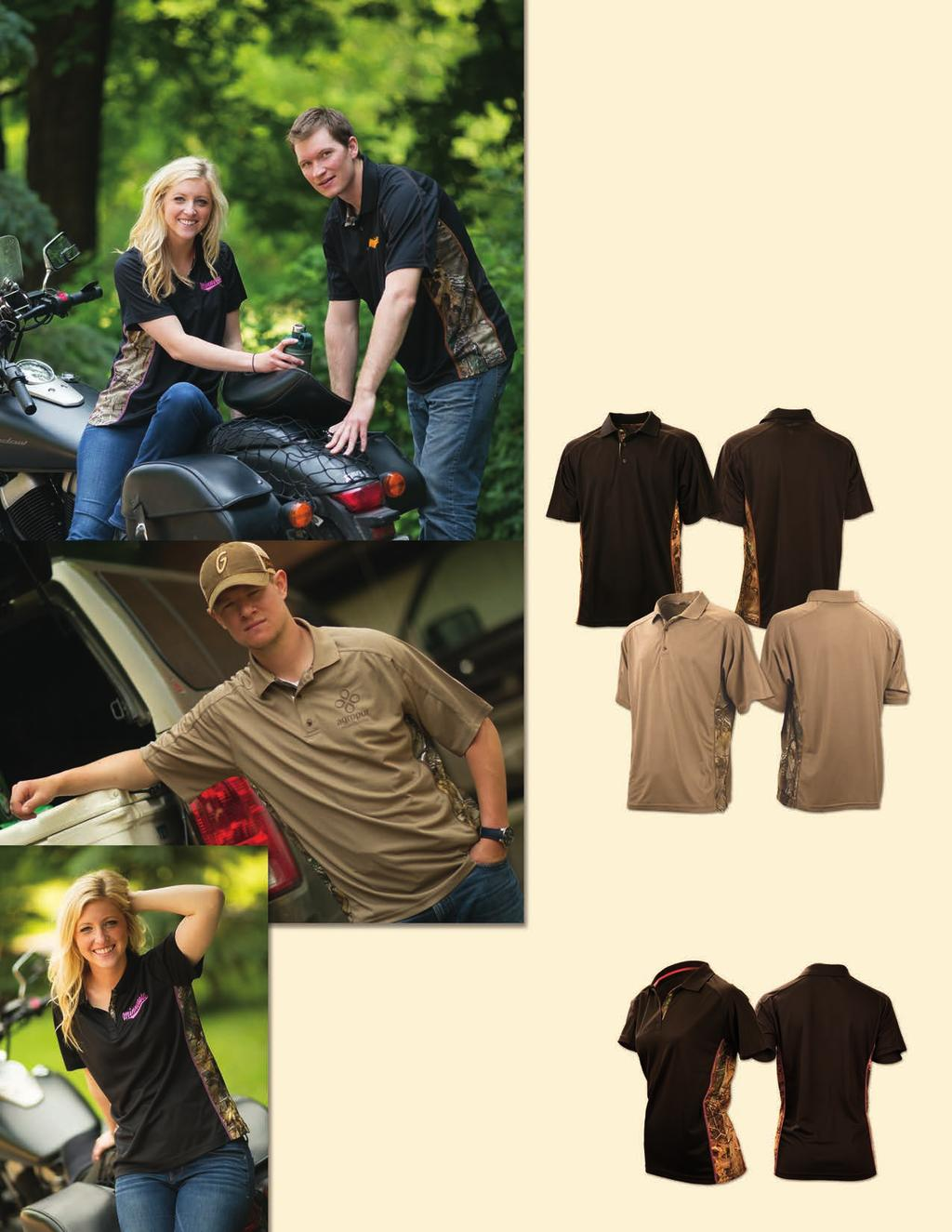 WILDERNESS POLO SHIRT Short-Sleeve Performance Polo Men s Wilderness Polo Shirt Summertime and the outdoors go hand and hand!