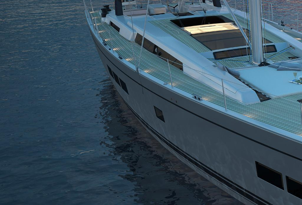 Design, performance and excellence make the 675 a supremely rewarding boat to sail.