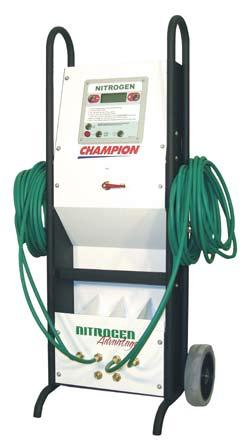 7 Nitrogen Accessories Nitrogen Auto Fill Cart Every nitrogen generator used in the automotive industry would benefit from an Auto Fill Cart. Ease of use is always a priority.